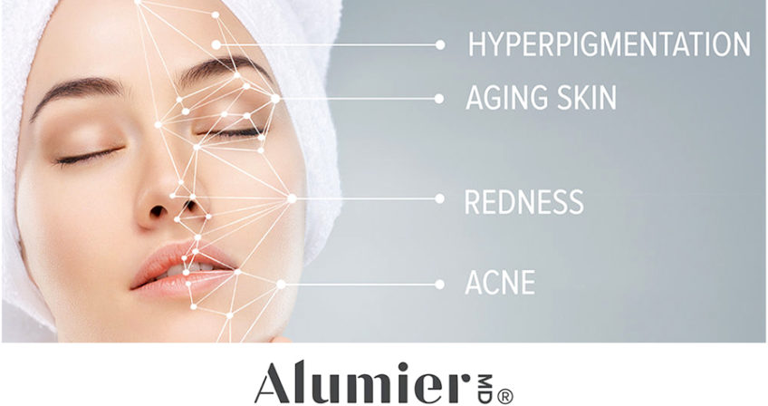 AlumierMD skincare products available at Laser Clinic Galway