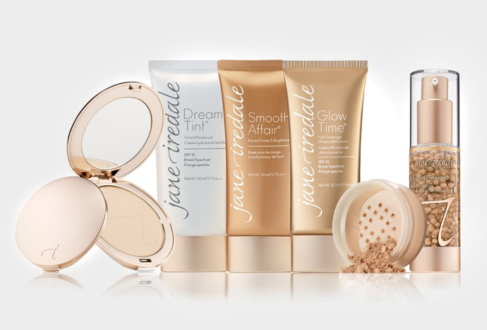 Jane Iredale makeup products at Laser Clinic Galway